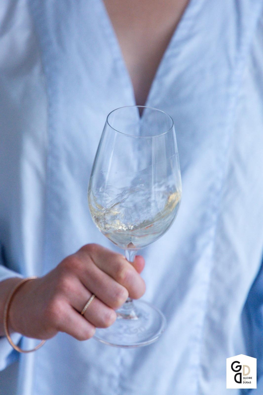 Witte wijn walsen