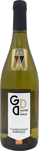 Chardonnay Barrique 2019 wijndomein Gloire de Duras