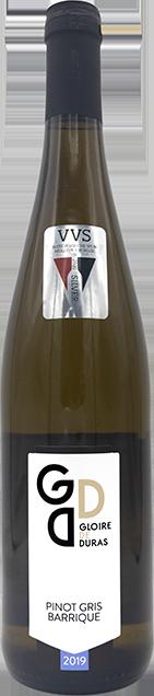 Pinot Gris Barrique 2019 wijndomein Gloire de Duras