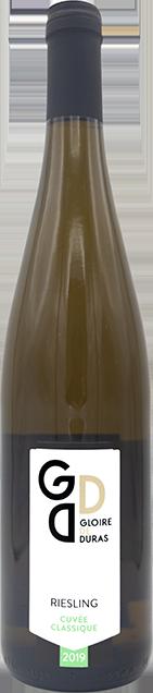Riesling Cuvée Classique 2019 wijndomein Gloire de Duras