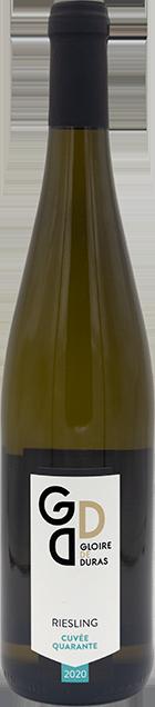 Riesling Cuvée Quarante 2020 wijndomein Gloire de Duras