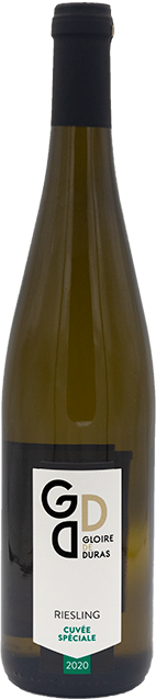 Riesling Cuvée Spéciale 2020 wijndomein Gloire de Duras